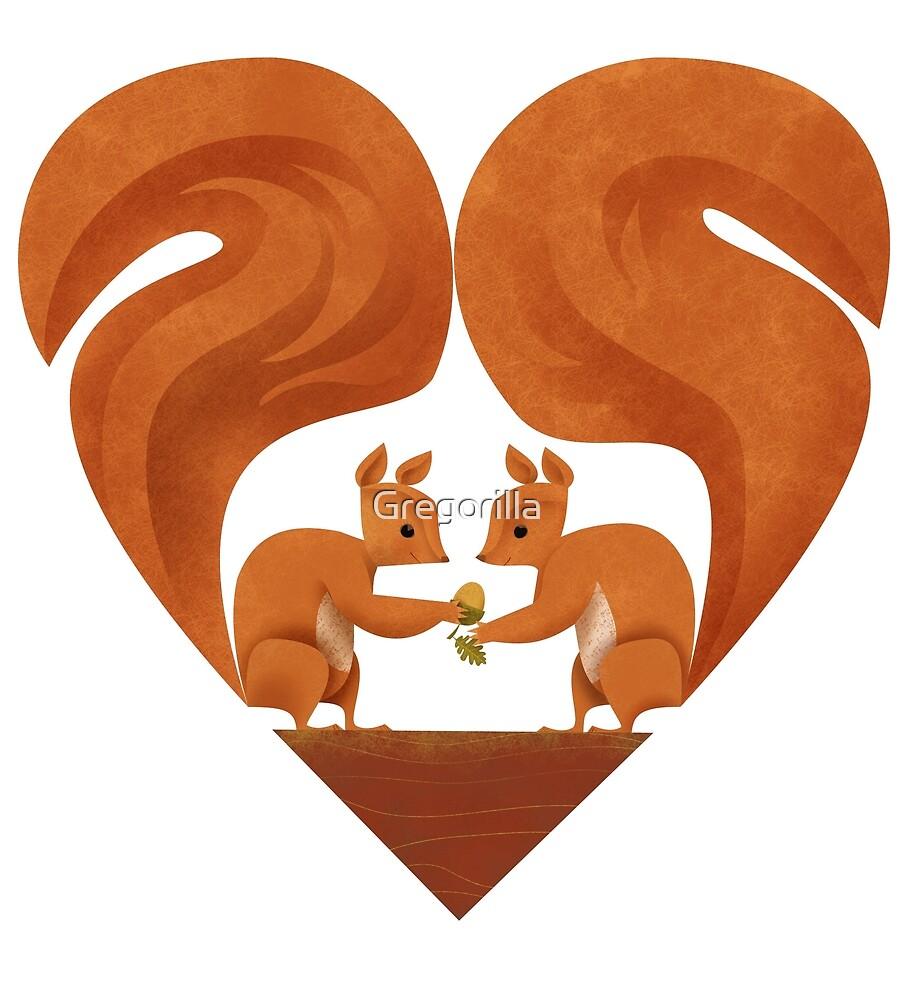 Squirrel Lovers by Gregorilla
