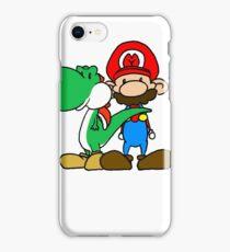 Mario and Yoshi iPhone Case/Skin