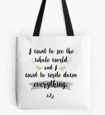 Write Everything Tote Bag