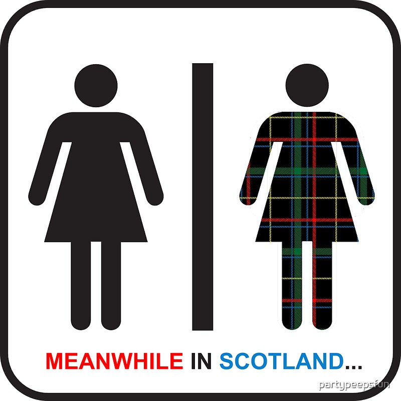 "Bathroom Signs In Scotland funny scottish restroom sign (2)"" stickerspartypeepsfun"