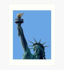 Lámina artística Estatua de la Libertad, Puerto de Nueva York