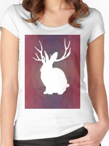 Miike Snow - Geometric Women's Fitted Scoop T-Shirt