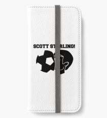 Scott Sterling! (black) iPhone Wallet/Case/Skin