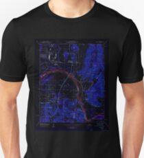 USGS TOPO Map Alabama AL Farley 303817 1950 24000 Inverted T-Shirt