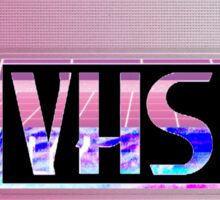 Retro VHS  Sticker