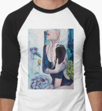 In Her Garden Men's Baseball ¾ T-Shirt