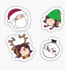 Game Grumps: Christmas Grumps Stickers Sticker