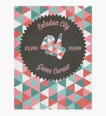 Celadon Game Corner Photographic Print