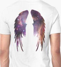Angel Pink Galaxy Wings Unisex T-Shirt