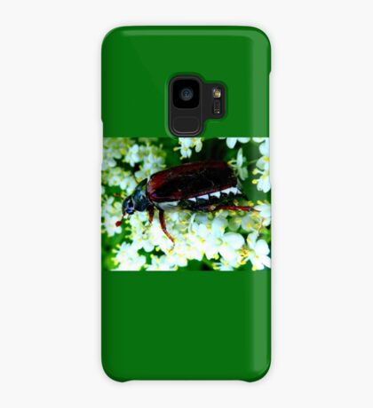 May Beetle on Elderflower Case/Skin for Samsung Galaxy