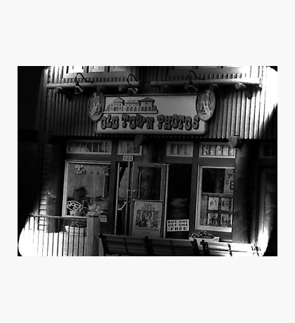 """""""Gatlinburg, Tennessee, Series, #5... The Old Timey Photo Shop, 5th Picture of Series #5""""... prints and products Photographic Print"""