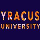 Syracuse University by feliciasdesigns