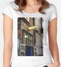 stage door Women's Fitted Scoop T-Shirt
