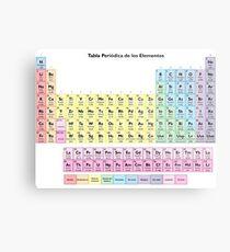 Spanish periodic table wall art redbubble tabla periodica de los elementos spanish periodic table metal print urtaz Images