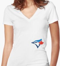 TORONTO BLUE JAYS 2016 Women's Fitted V-Neck T-Shirt