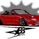 BurNAta - Sticker by BBsOriginal