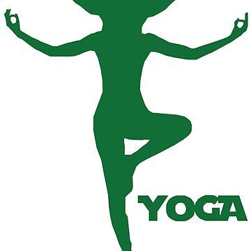 Yoga Yoda by ElonSvardhagen