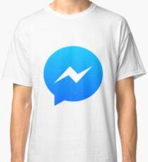 Facebook messenger logo Classic T-Shirt