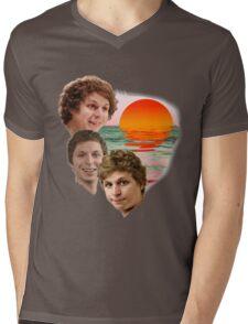 3 Cera Sunset Mens V-Neck T-Shirt
