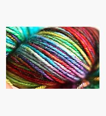 Colorful Yarn Skein for knitters Photographic Print