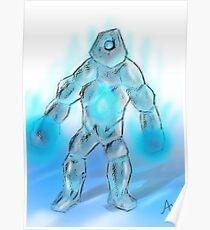 Ice Golem Poster