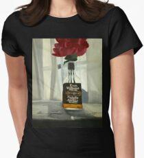 """Gambino"" 16""x20"" acrylic painting Womens Fitted T-Shirt"