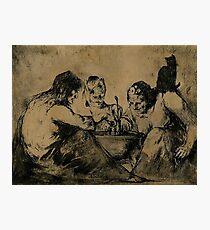 Three Witches brew Photographic Print