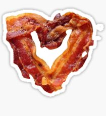 Bacon Heart Sticker