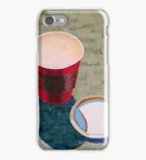 """""""Empty cup"""" iPhone Case/Skin"""