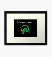 Game on Rayquaza Framed Print