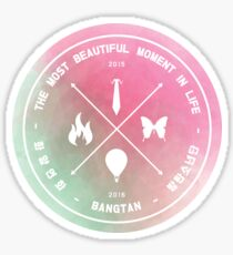 The Most Beautiful Moment In Life - Watercolor Sticker