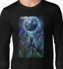 Gratitude For The Earth And Sky Long Sleeve T-Shirt