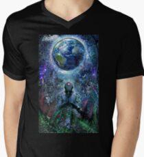 Gratitude For The Earth And Sky, 2015 Men's V-Neck T-Shirt
