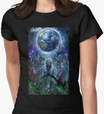 Gratitude For The Earth And Sky Women's Fitted T-Shirt