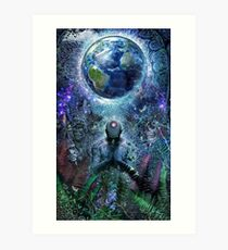 Gratitude For The Earth And Sky, 2015 Art Print