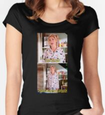Buffy's Yummy Sushi Pyjamas  Women's Fitted Scoop T-Shirt