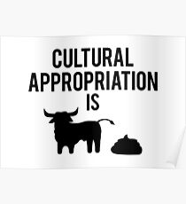 Cultural Appropriation is BS Poster
