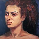 Portrait of Natalie by Roz McQuillan