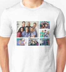 Scrubs Cast Photoshoot Collage T-Shirt