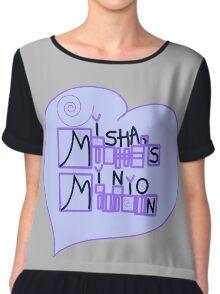 Misha's Minion Chiffon Top