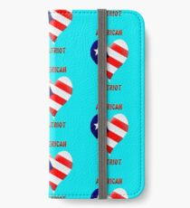 American Patriot  iPhone Wallet/Case/Skin