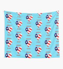 American Patriot  Wall Tapestry