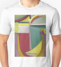 Vintage famous art - Alexei Jawlensky  - Abstract Head Inner Vision Unisex T-Shirt