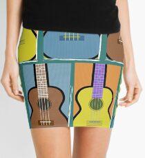 Warhol Ukes Mini Skirt