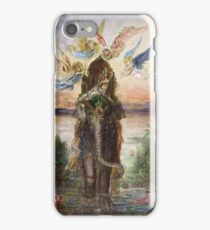 Vintage famous art - Gustave Moreau - The Sacred Elephant 1882 iPhone Case/Skin