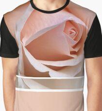 Happy Wedding Anniversary Soft Rose Graphic T-Shirt