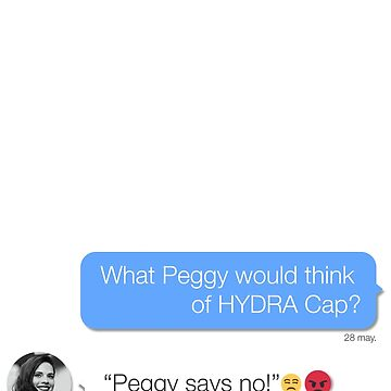 "Hayley Atwell: ""Peggy says no!"" by achiib"
