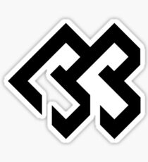 Btob Black Logo Sticker