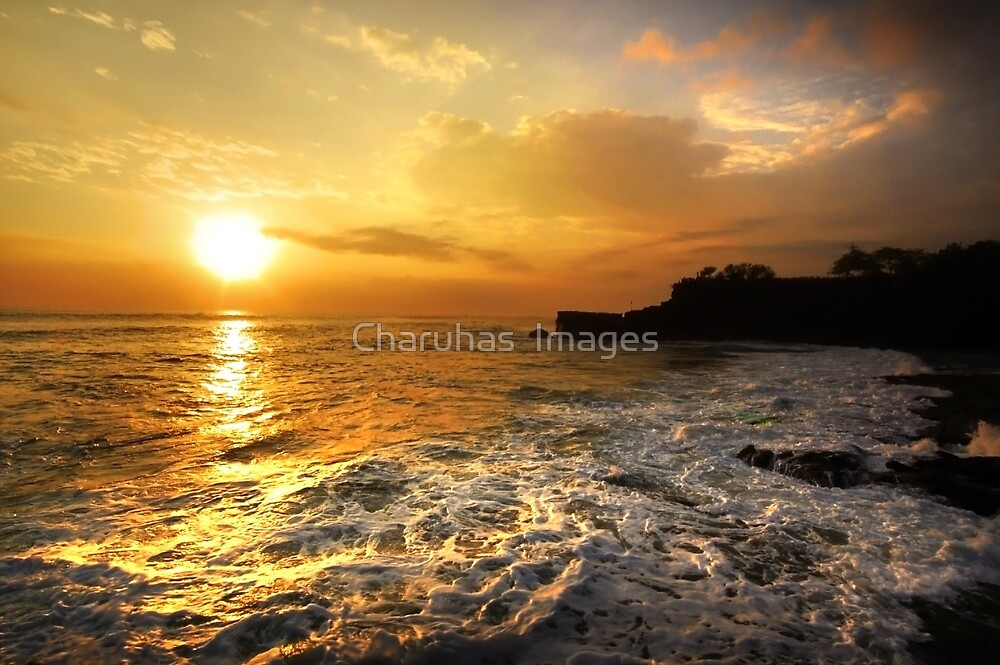 Sunset In Bali by Charuhas  Images
