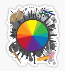 Artist Tools - Color Wheel Sticker